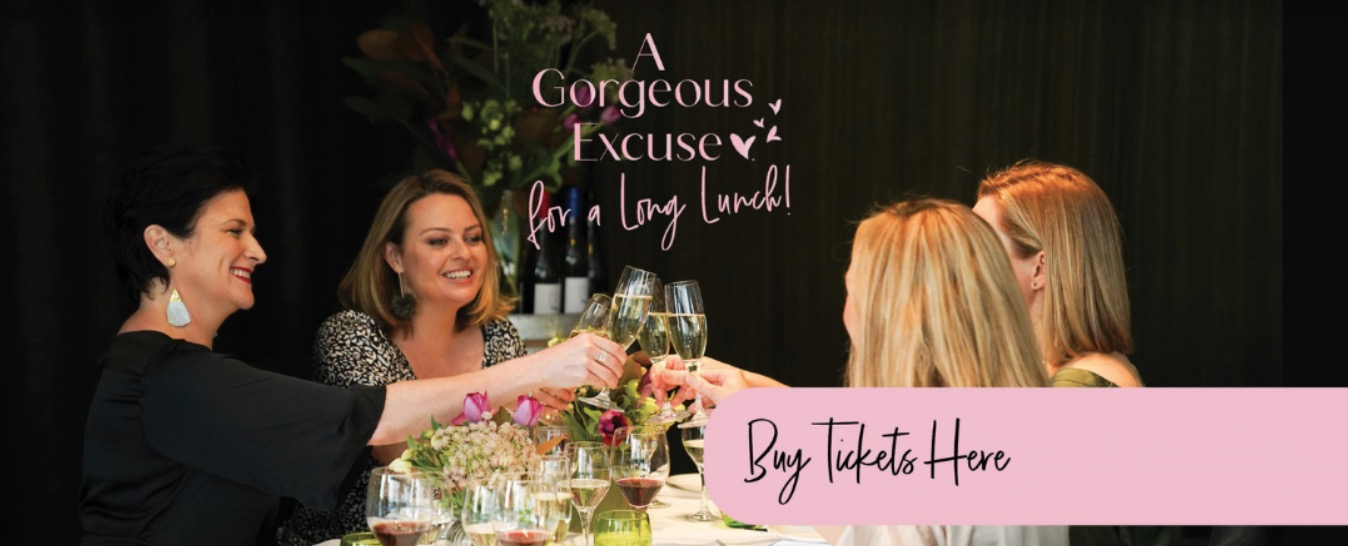 A Gorgeous Excuse for a Long Lunch Banner