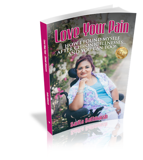 Love Your Pain 1 - standing book