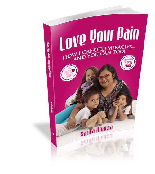 Love Your Pain Book 2 - standing book