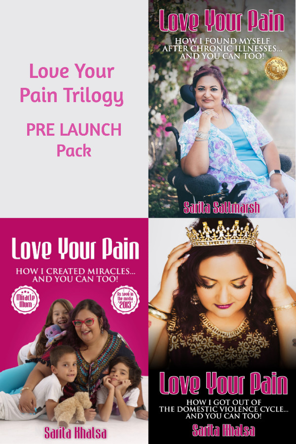 Love Your Pain Book Trilogy Pre Launch Pack